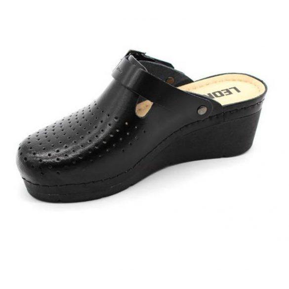 Leon Comfort 1000 Fekete női Papucs