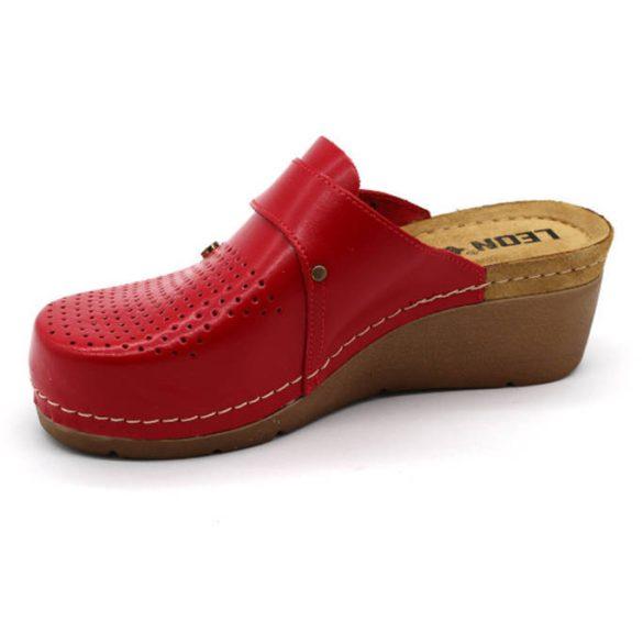 Leon Comfort 1001 Piros női papucs