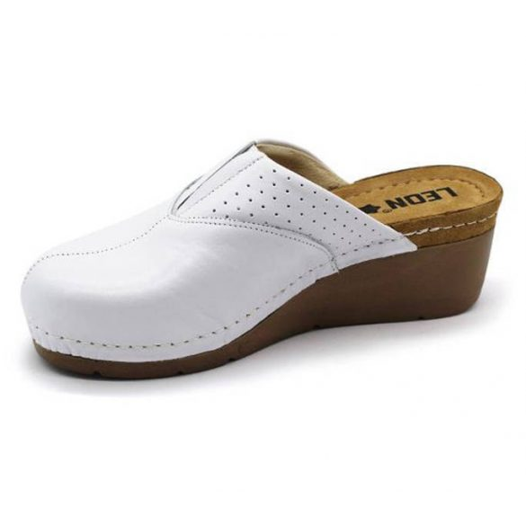 Leon Comfort 1002 Fehér női papucs