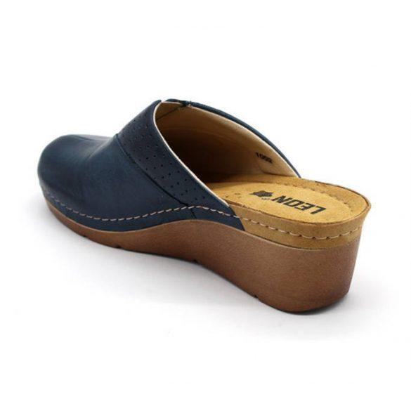 Leon Comfort 1002 Kék női papucs