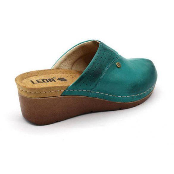 Leon Comfort 1002 Türkiz női papucs