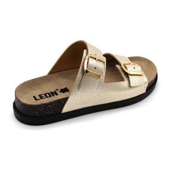 Leon Comfort 1220 Arany női papucs