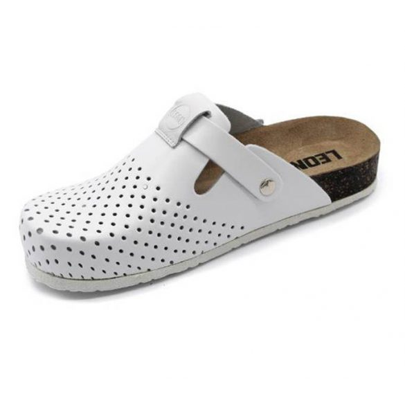 Leon Comfort 1250 Fehér női papucs