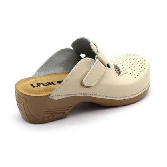 Leon Comfort 159 Bézs női papucs