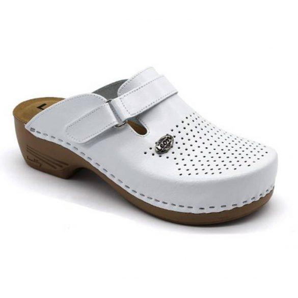 Leon Comfort 159 Fehér női papucs