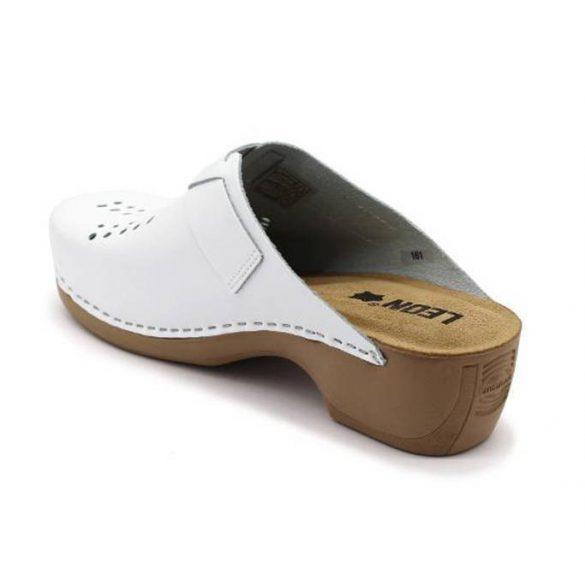 Leon Comfort 161 Fehér új női papucs