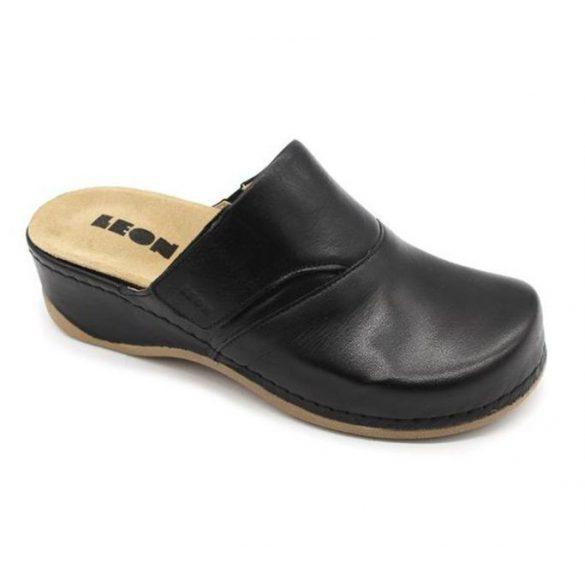 Leon Comfort 2019 Fekete női papucs