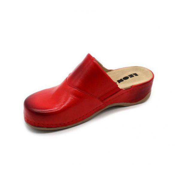 Leon Comfort 2019 Piros női papucs