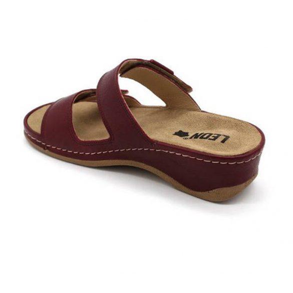 Leon Comfort 2020 bordó női papucs