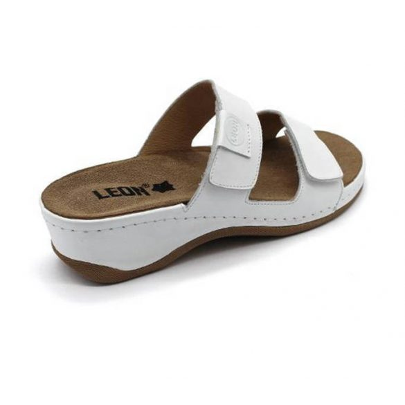 Leon Comfort 2020 fehér női papucs