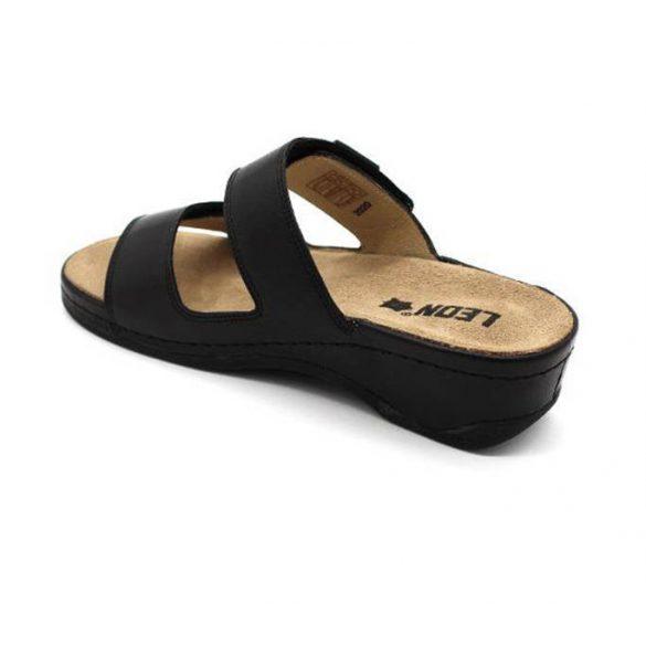 Leon Comfort 2020 fekete női papucs