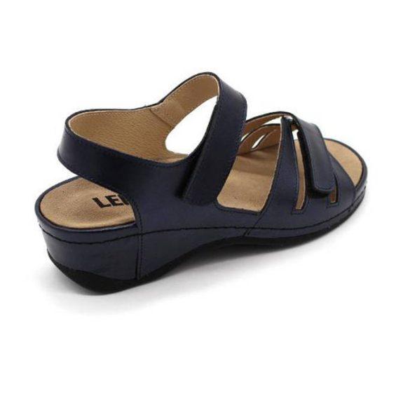 Leon Comfort 2021 Kék női szandál