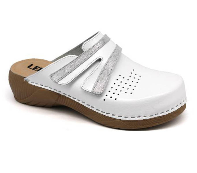 836f31ef0040 Leon Comfort 3200 Fehér női papucs - Papucs webáruház
