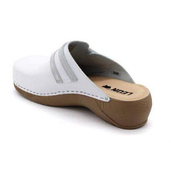 Leon Comfort 3200 Fehér női papucs