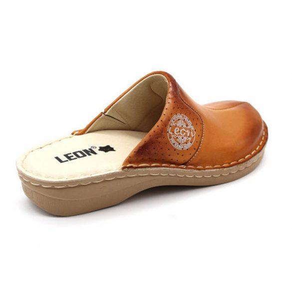 Leon Comfort 360 Barna női papucs