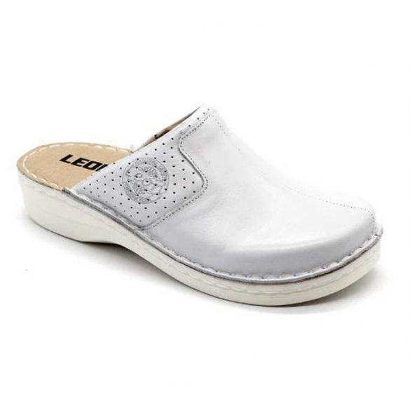 Leon Comfort 360 Fehér női papucs