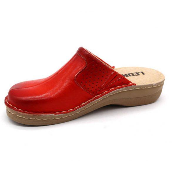 Leon Comfort 360 Piros női papucs