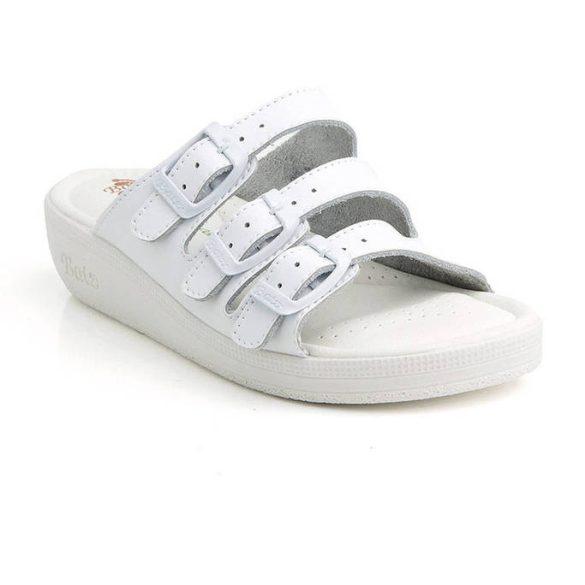 Batz 3BCS Fehér női papucs