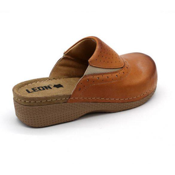 Leon Comfort 400 Barna női papucs