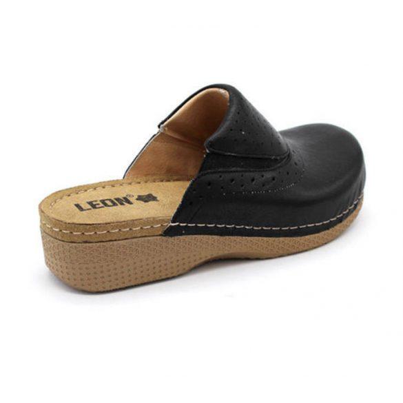 Leon Comfort 400 Fekete női papucs