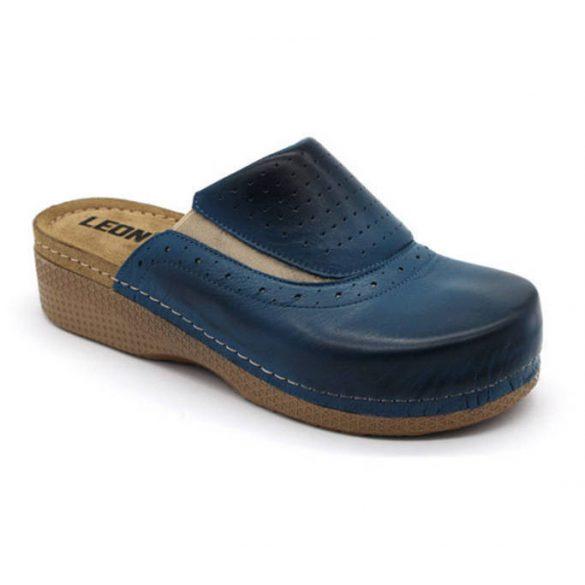 Leon Comfort 400 Kék női papucs