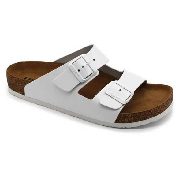 Leon Comfort 4010 Feher női papucs