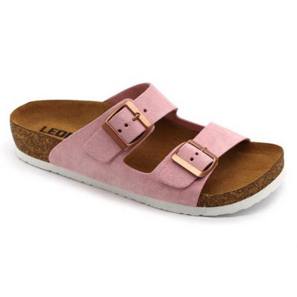 Leon Comfort 4010 Rozsa női papucs