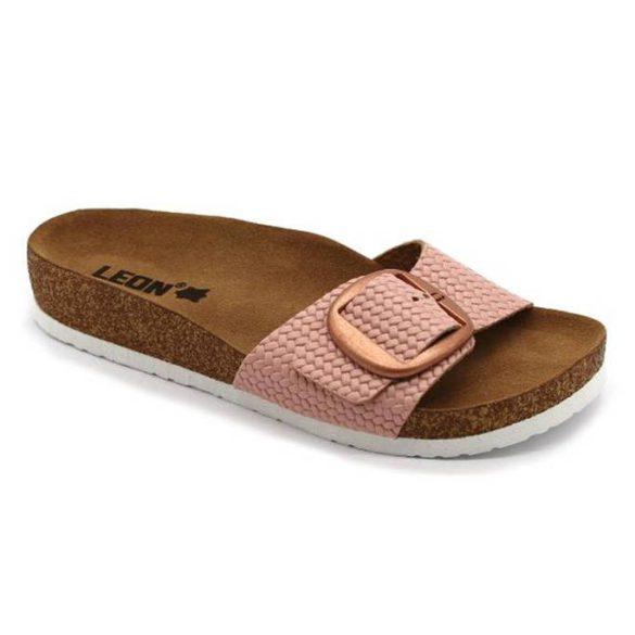 Leon Comfort 4020 Rozsa női papucs