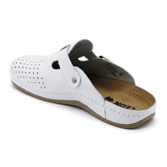 Leon Comfort 700 Fehér férfi papucs