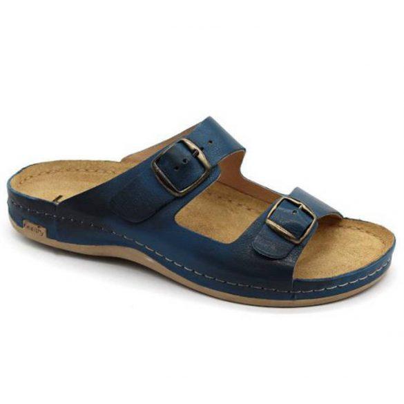 Leon Comfort 703 Dark Blue férfi papucs