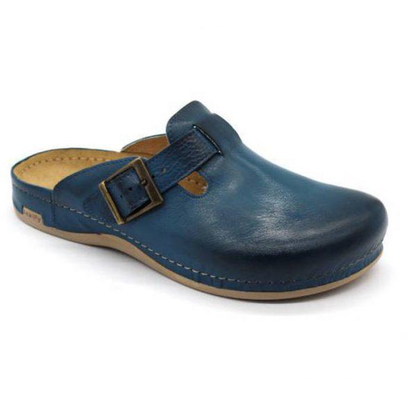 Leon Comfort 707 Dark Blue férfi papucs