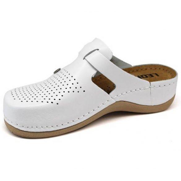 Leon Comfort 900 Fehér női papucs