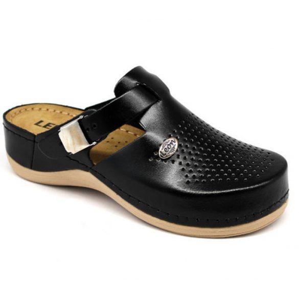 Leon Comfort 900 Fekete női papucs