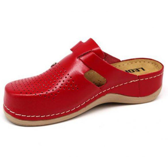 Leon Comfort 900 Piros női papucs