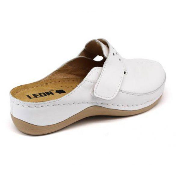 Leon Comfort 902 Fehér női papucs