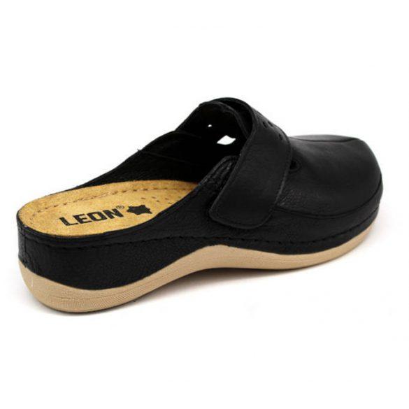 Leon Comfort 902 Fekete női papucs