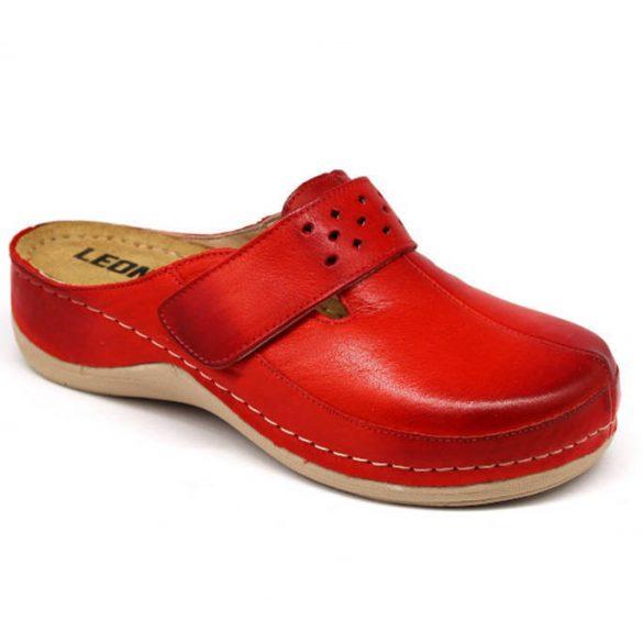 Leon Comfort 902 Piros női papucs