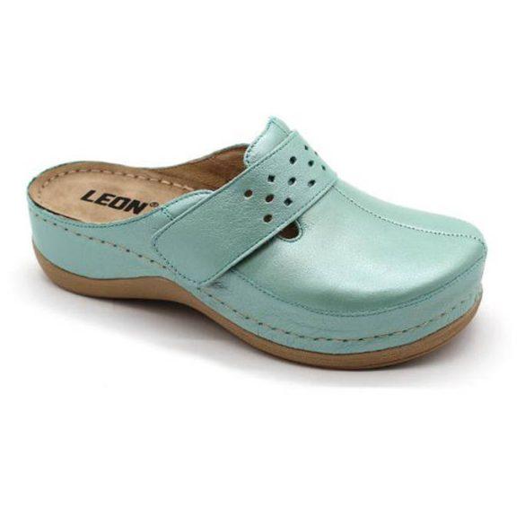 Leon Comfort 902 Türkiz-világos női papucs