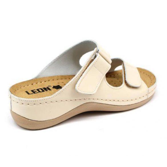 Leon Comfort 905 Bézs női papucs