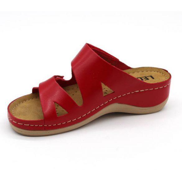 Leon Comfort 906 Piros női papucs