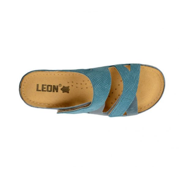 Leon Comfort 907 Kék női papucs
