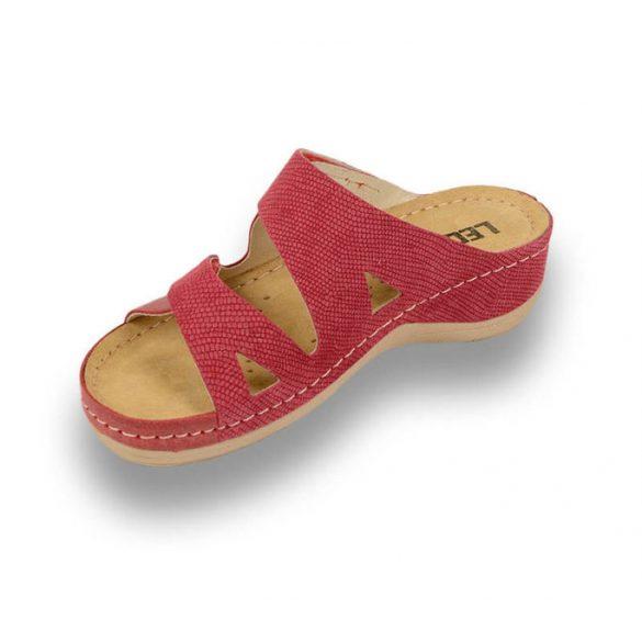 Leon Comfort 907 Piros női papucs