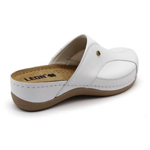 Leon Comfort 912 Fehér női papucs