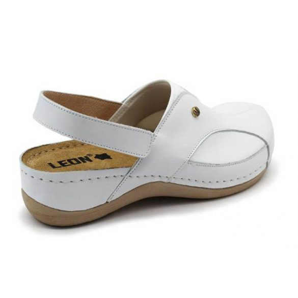 Leon Comfort 913 Fehér női szandál