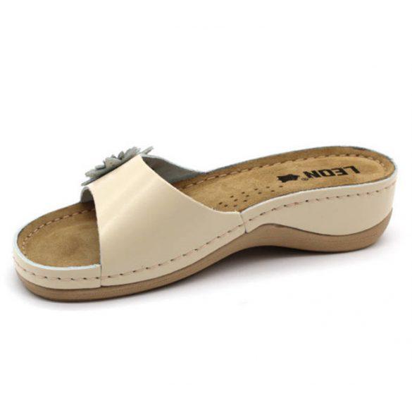 Leon Comfort 915 Bézs női papucs