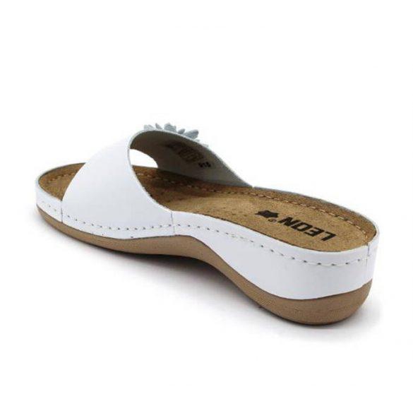 Leon Comfort 915 Fehér női papucs