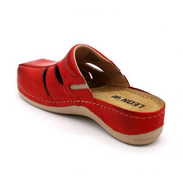 Leon Comfort 925 Piros női papucs