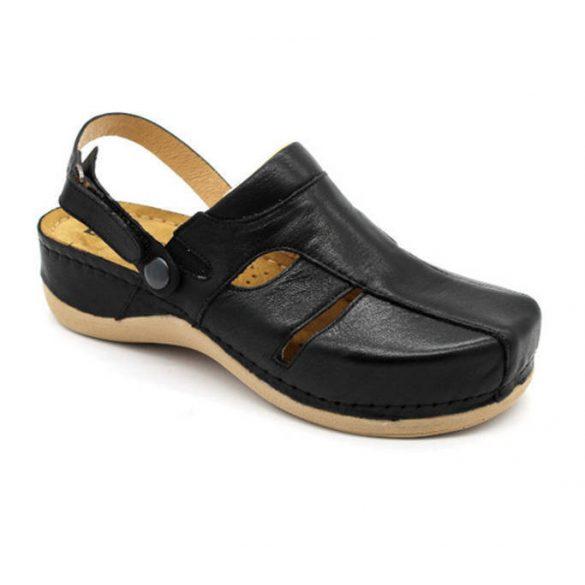 Leon Comfort 926 Fekete női papucs