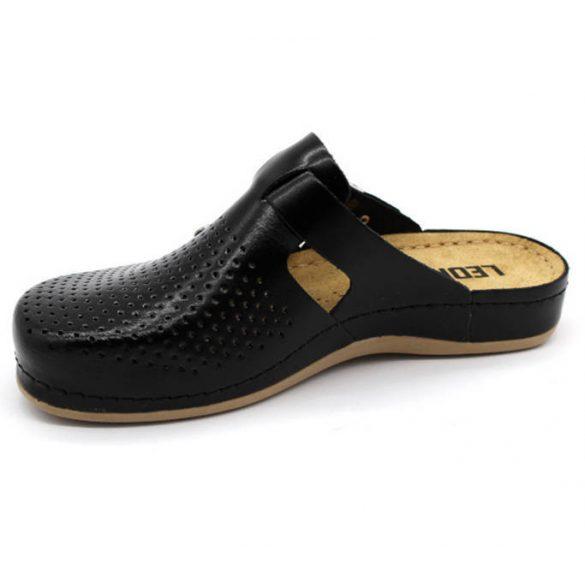 Leon Comfort 950 Fekete női papucs