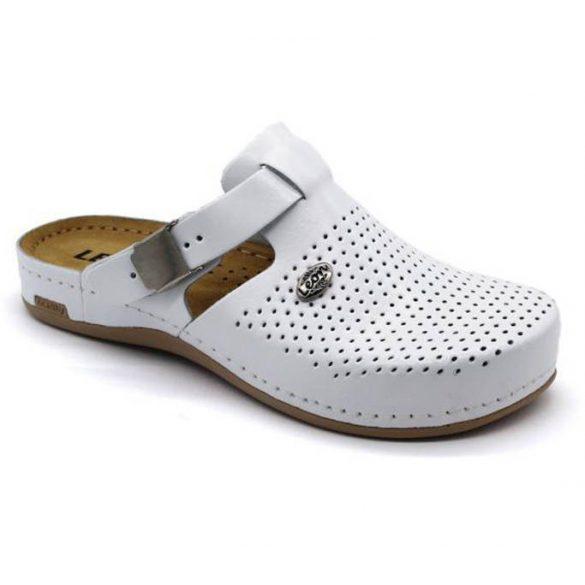 Leon Comfort 950 Fehér női papucs